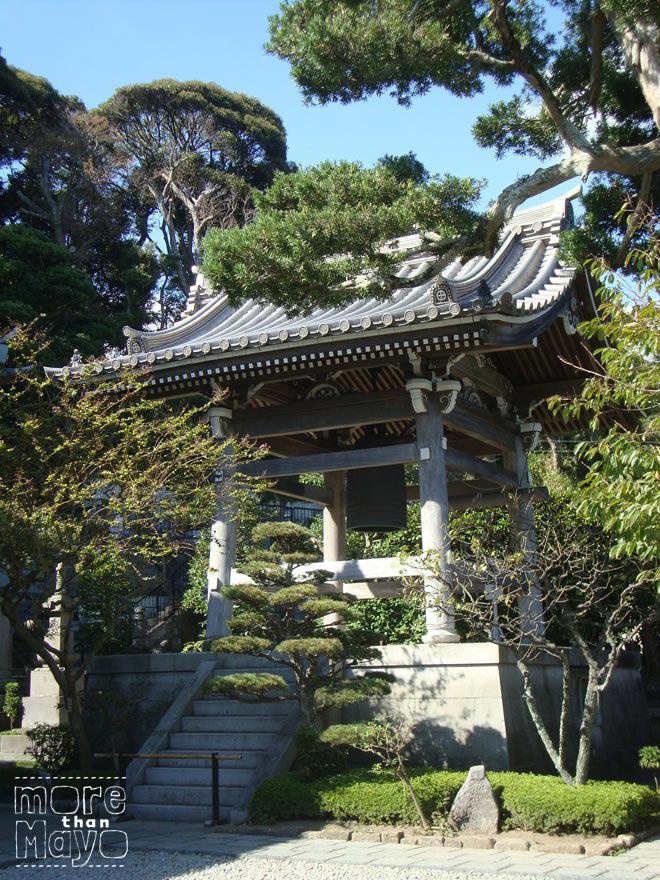 Bel bij de Hase-dera tempel, Kamakura