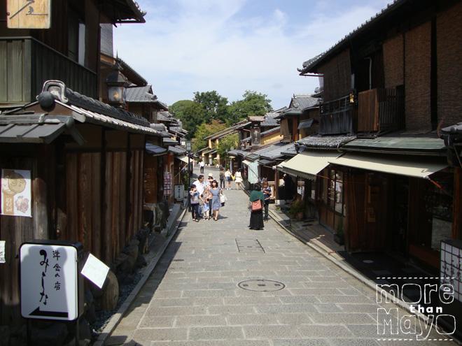 Straatje in Gion, Kyoto