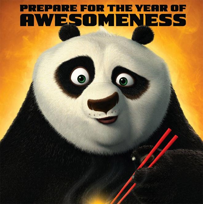 Eigenaardigheden en awesomeness - www.morethanmayo.com/eigenaardigheden-en-awesomeness | Image: Kung Fu Panda awesomeness, copyright: More than Mayo