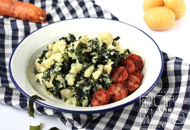 Zeewier stamppot / Seaweed mashed potatoes - by More than Mayo www.morethanmayo.com