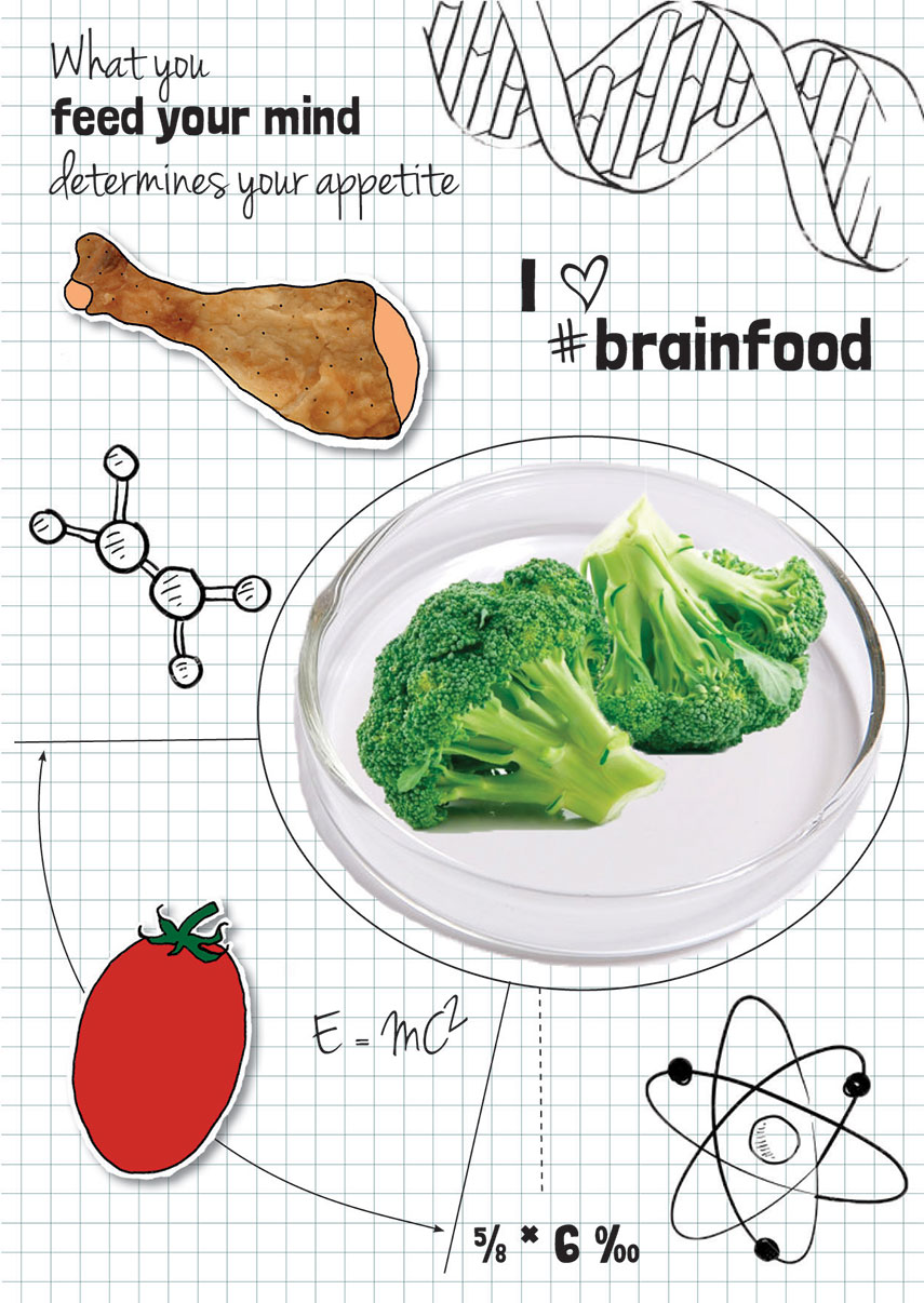 Feed your mind: brainfood! - Why is it important to feed your brain? - www.morethanmayo.com/brainfood   image: brainfood, copyright: More than Mayo foodconcepts - www.morethanmayo.com