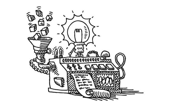 Experience Design; het belang van het concept - https://www.morethanmayo.com/experience-design-belang-concept | image: idea machine, source: gettyimages.nl