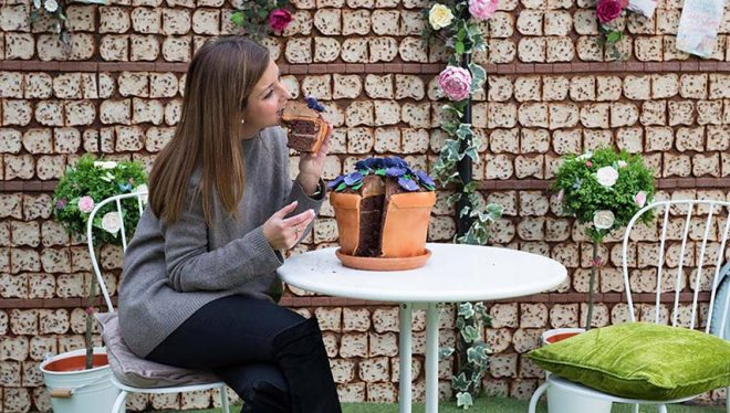 What is experience marketing? www.morethanmayo.com/wat-is-experience-marketing   Image: Edible garden, source: www.independent.co.uk