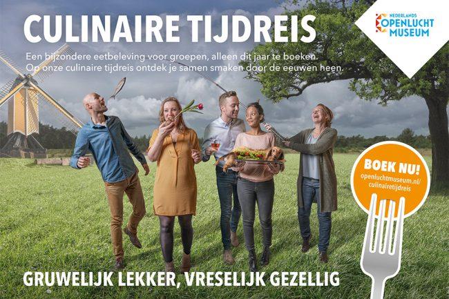 Openluchtmuseum campagne Culinaire Tijdreis