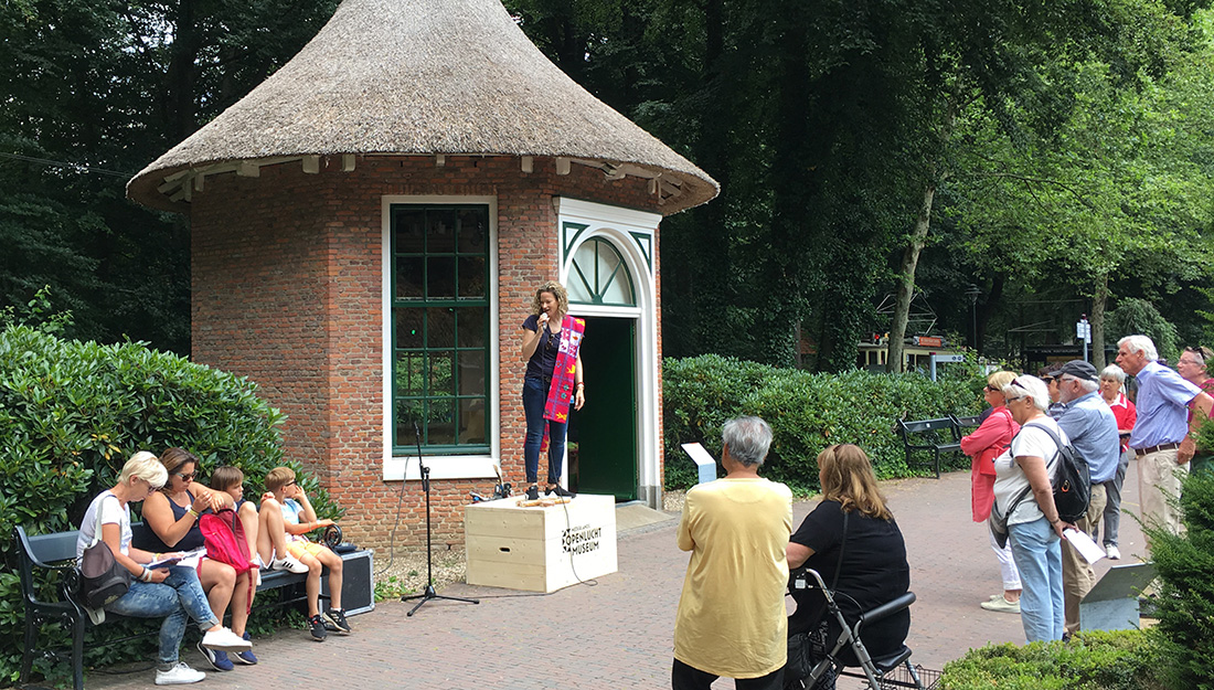 Openluchtmuseum Gruwelijk Lekker zomer event