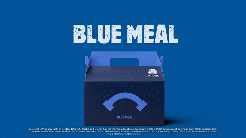 Experience review Burger King Real Meals - www.morethanmayo.com/real-meals-burger-king | image: blue meal