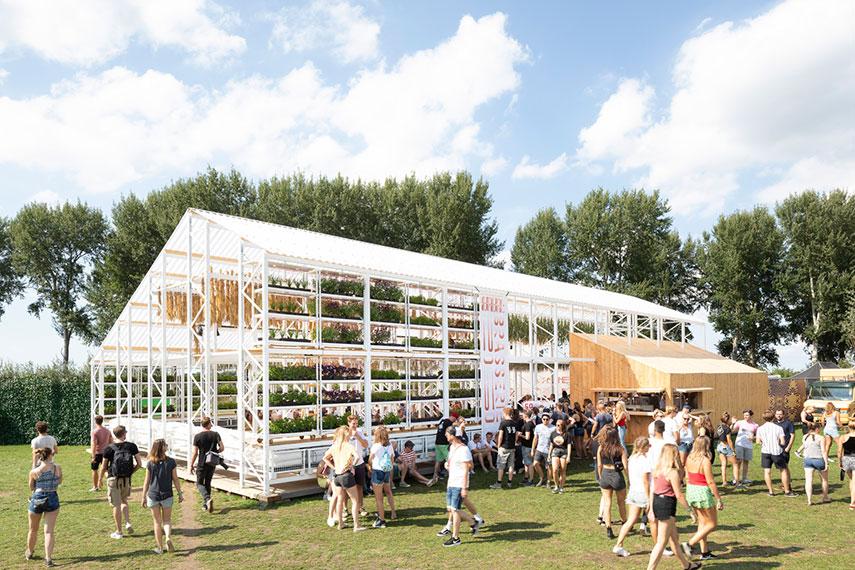 Brasserie 2050 op Lowlands - www.morethanmayo.com/brasserie-2050 | image: Brasserie 2050, source: dutchdesigndaily.com