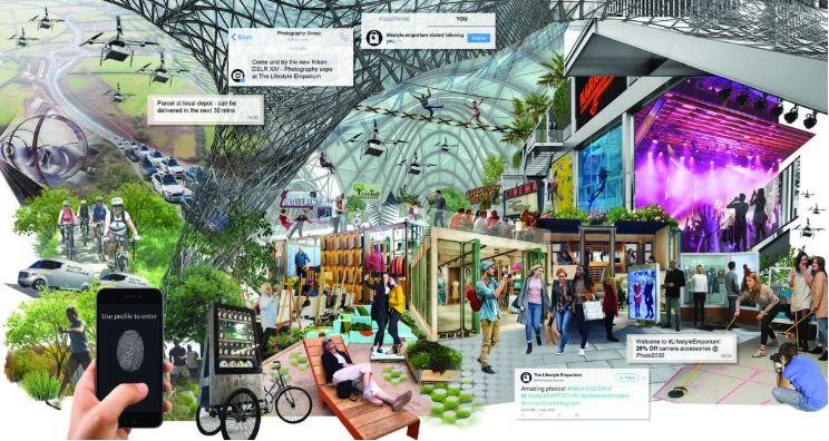 Hoe cruciaal is beleving voor je merk? - www.morethanmayo.com/beleving-voor-merk-cruciaal | image: evolving retail experience, source: stridetreglown.com